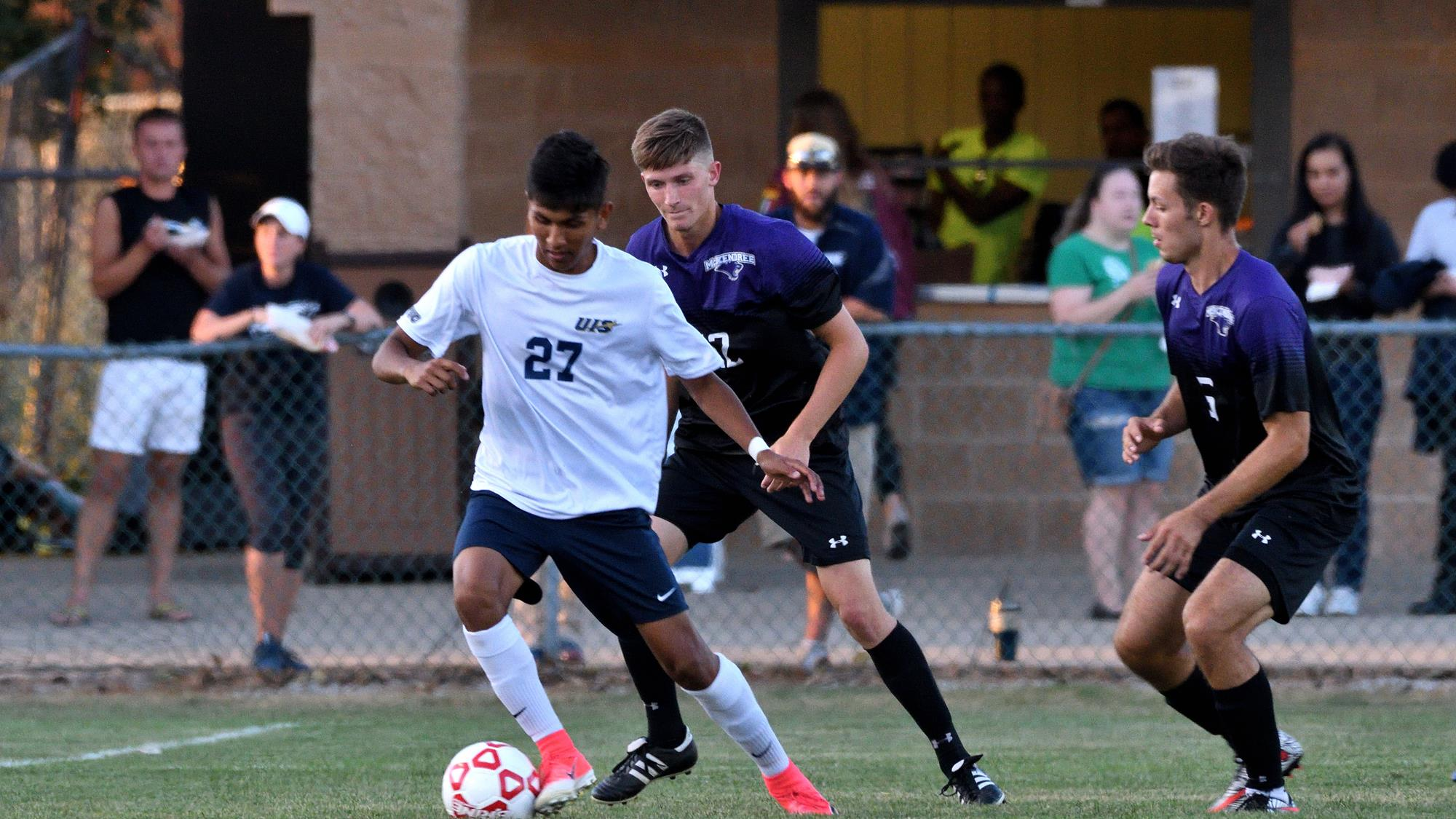 Uis Men S Soccer Moves To No 7 In Ncaa Regional Rankings Uis Athletics